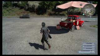 Final Fantasy XV - A Feline Feast Side Quest: Consult Monica Purchase Luxery Cat Food, Sky Gemstone