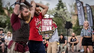 Throwdown Axe Festival 2019 Recap (World Axe Throwing League)