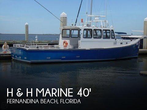 Used 2008 H & H Marine Osmond Beal 40 for sale in Fernandina Beach, Florida