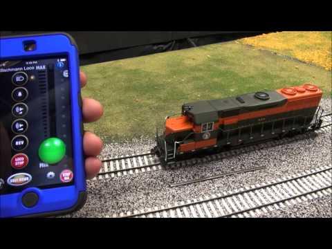 Review: Bachmann EZ App Locomotives & Application