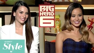Style Questions with Big Hero 6's Genesis Rodriguez and Jamie Chung