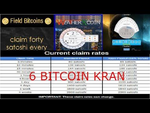 6 Bitcoin Kran