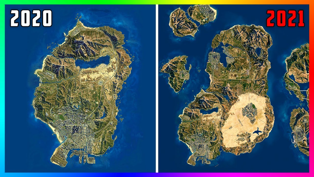 The NEW GTA 5 Online Map Will Look Like This By The End Of The Year If Fans Get What They Want!