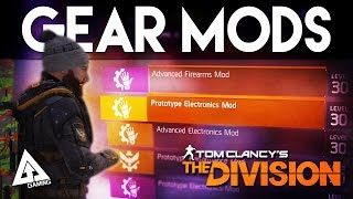 """The Division Gear Mods Explained """"Repurposed Performance Mod"""""""