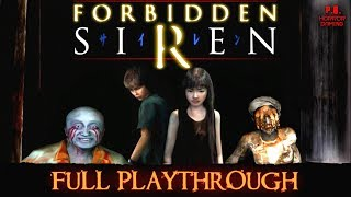 Forbidden Siren 1 |Full Playthrough| Longplay Gameplay Walkthrough No Commentary