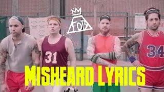 misheard lyrics: fall out boy