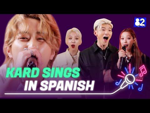 "Nyanyikan KARD ""Bomb Bomb"" Dalam Bahasa Spanyol | Try-lingual Live"