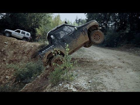 Suzuki Vitara In Full Offroad Action!
