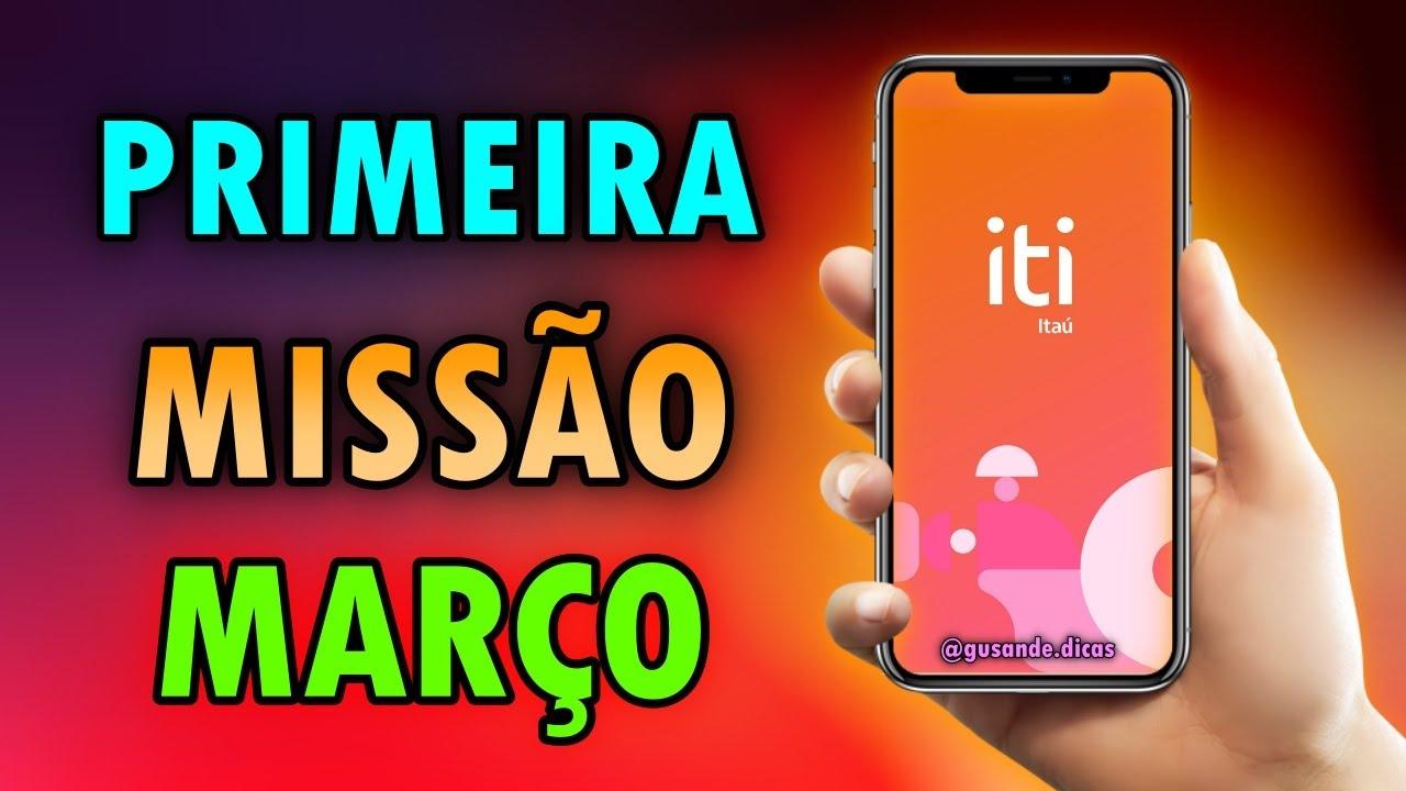 ITI : GANHE DINHEIRO TODA SEMANA COM ESSE APP - Itimania de MARÇO 2021 : Primeira Semana