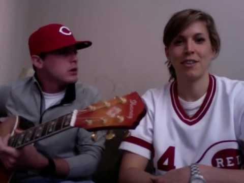 Reds Hooded Sweatshirt - Arroyo & Chapman Cover - Go Reds
