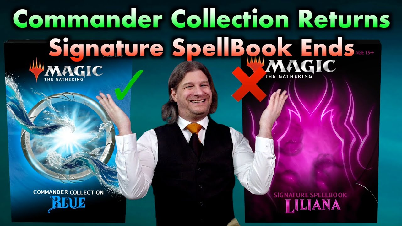 Commander Collection Returns, Signature Spellbook Ends   Tolarian Winds - A Magic The Gathering VLOG