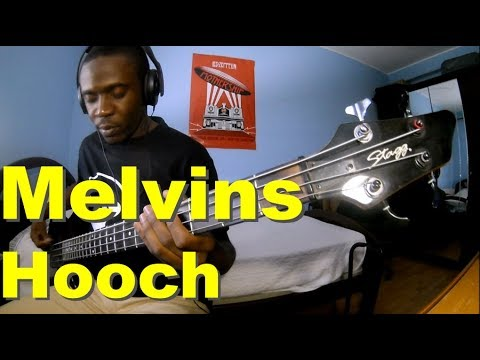 Hooch - Melvins (bass cover)