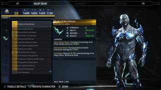 Injustice 2 - Blue Beetle Epic Gear Showcase/ Special Moves