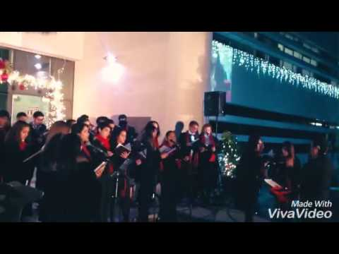 Carol of The Bells and Halellujah Messiah with Anheze Choir