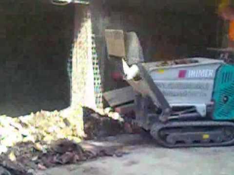 La motocarriola cingolata da scavo vangare la terra doovi for Grillo 507 usato