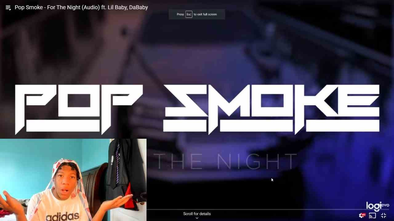 Pop Smoke - For The Night (Video) ft. Lil Baby, DaBaby