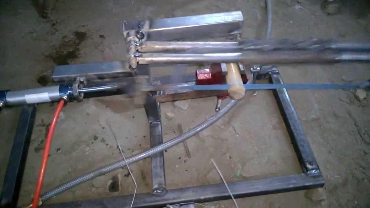 Pneumatic Hacksaw Mechanical Engineering Project Topics