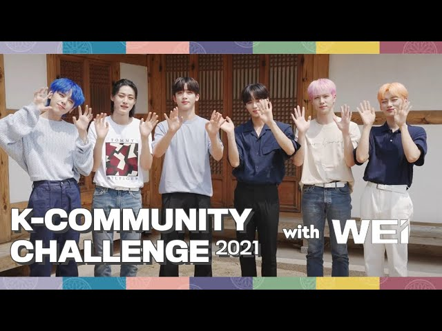[2021 K-Community Challenge] Promotional video with WEi