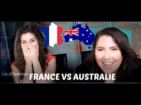 10 DIFFERENCES ENTRE LA FRANCE ET L'AUSTRALIE