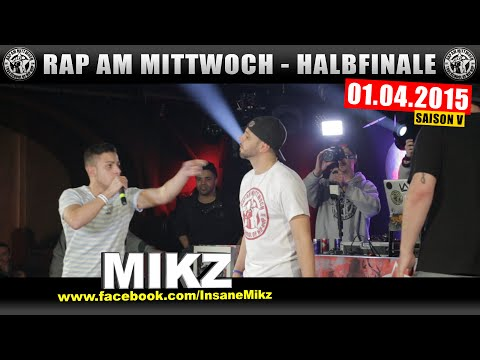 RAP AM MITTWOCH BERLIN: 01.04.15 BattleMania Halbfinale (3/4) GERMAN BATTLE