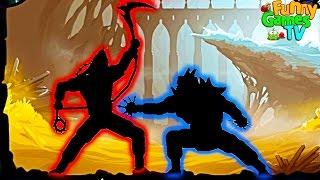 МЕГАМОНСТР Новые серии мультиков для детей игра Shadow Fight 2 бой с тенью