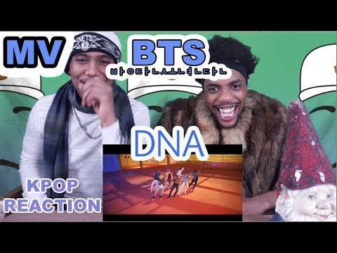 BTS (방탄소년단) 'DNA' Official MV | REACTION