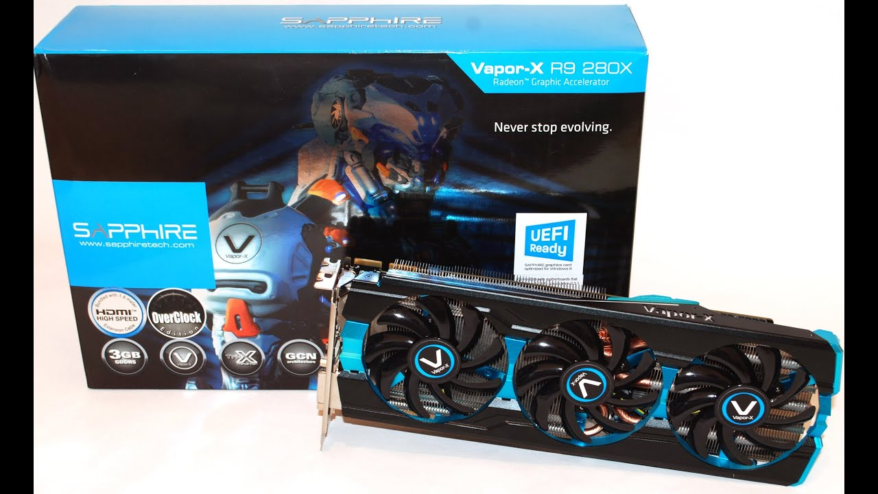 Sapphire Vapor-X R9 280X Tri-X OC with Boost Benchmarking Performance