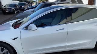 Tesla Model 3 Tinted in Ceramic Film 35% (OC TINT SOLUTIONS)