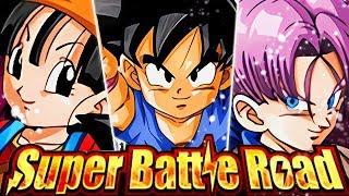 HOW GOOD IS RAINBOW LR GOKU, TRUNKS & PAN VS. CATEGORY SUPER BATTLE ROAD? (DBZ: Dokkan Battle) thumbnail