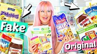 FAKE gegen ORIGINAL 🤢 sind teure Süßigkeiten besser? | ViktoriaSarina