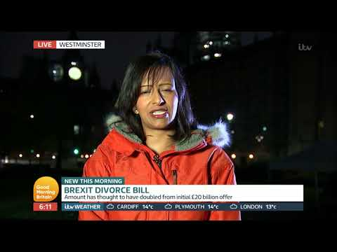 Brexit Divorce Bill Increase   Good Morning Britain
