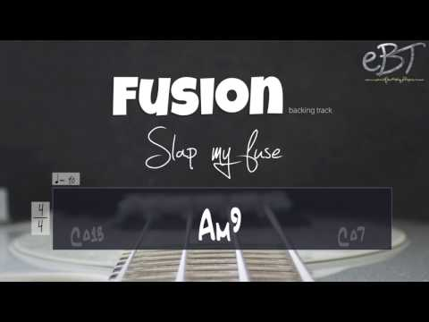 FUSION STYLE BACKING IN E MINOR!!