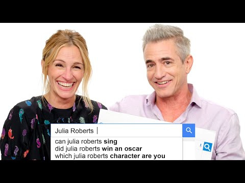 Julia Roberts & Dermot Mulroney Answer the Webs Most Searched Questions | WIRED