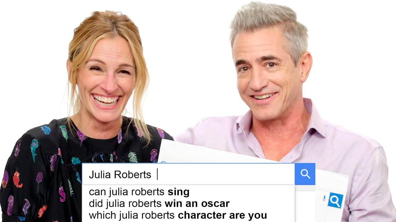 Julia Roberts & Dermot Mulroney Answer the Web's Most Searched Questions | WIRED
