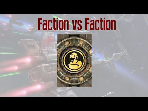 X-wing Faction vs Faction - THE CREW CARDS