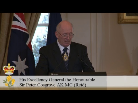 Morning Investiture: 2017 Spring Investiture Ceremonies at Government House, Canberra.