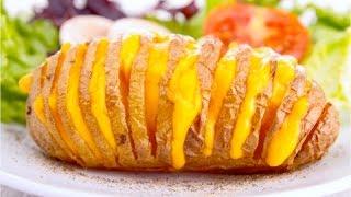 Очень вкусная Картошка запеченная в духовке.