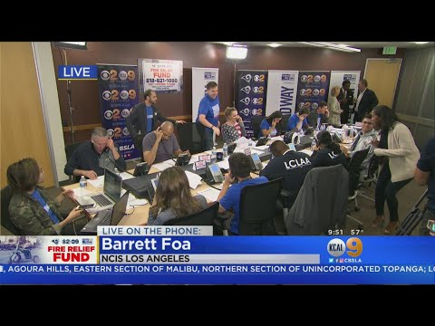 Barrett Foa From NCIS:LA Shares A $10,000 Donation From Cast And Crew
