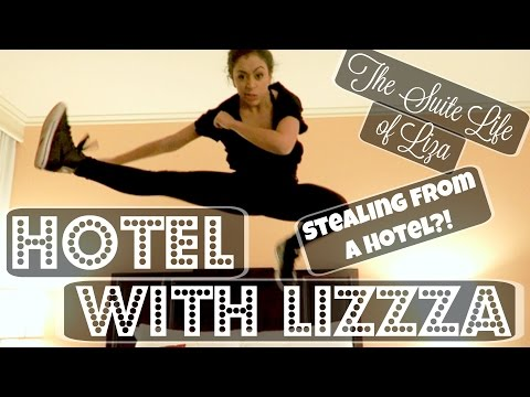 Thumbnail: STEALING FROM HOTELS?! HOTEL WITH LIZZZA | Lizzza