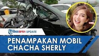 Penampakan Mobil yang Ditumpangi Chacha Sherly saat Kecelakaan hingga Tewas, Ringsek Tinggal Separuh