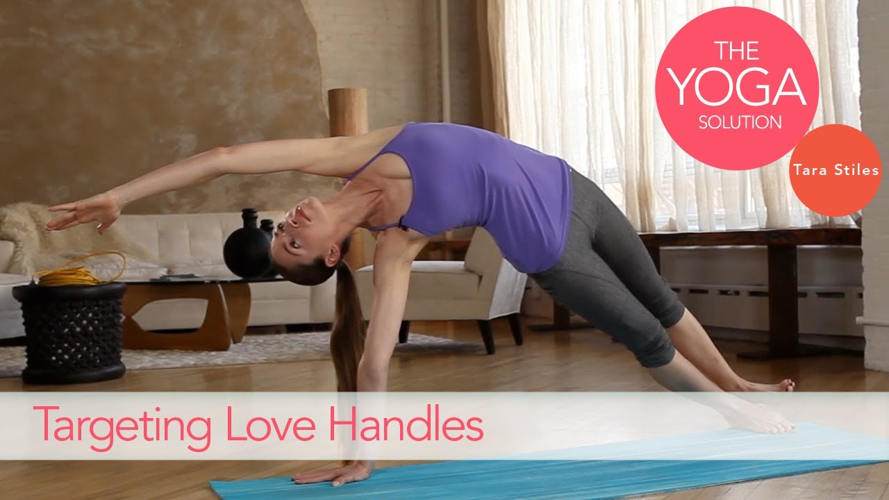 Targeting Love Handles | The Yoga Solution With Tara Stiles
