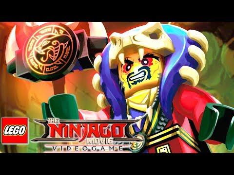 A FURIA DO MESTRE CHEN em The LEGO NINJAGO Movie Video Game EXTRAS #12