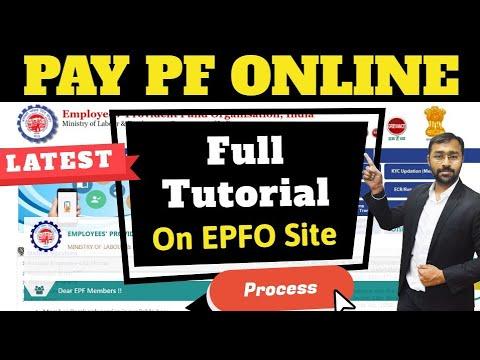 How To Pay EPF Online | PF Challan Payment |  ईपीएफ का भुगतान ऑनलाइन कैसे करें