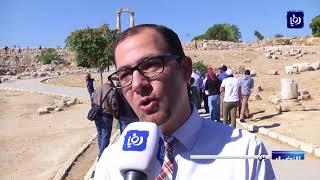 اكاديمية المكفوفين الأردنيين تنظم مسيرة لعدد من المكفوفين في جبل القلعة - (15-10-2017)