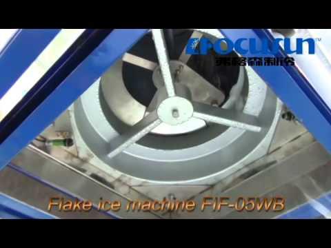 Seawater Marine used Flake Ice Maker FIF-05WB