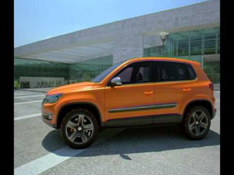 2006 Volkswagen Tiguan Concept Beauty Shots Youtube