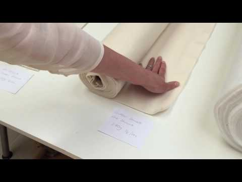 Curtain Interlinings - What we use in a PRO workshop
