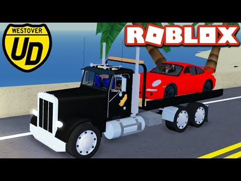 TOWING CARS in Ultimate Driving!! - Roblox