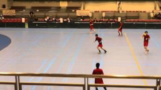 第68回 国体ハンドボール少年男子 北海道 vs 茨城県 (8)