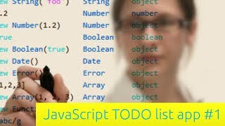 To-do List App - JavaScript Tutorial for Beginners